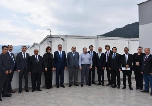 Ödemiş Ticaret Borsası, Ege Tarım Ürünleri Lisanslı Depoculuk AŞ'nin Genel Kurul Toplantısına Katılım Sağladı: