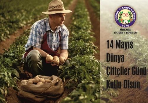 14 Mayıs Dünya Çiftçiler Günü Kutlu Olsun.
