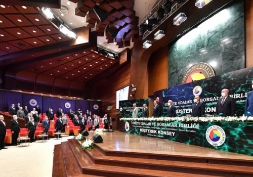Ödemiş Ticaret Borsası Yönetim Kurulu Başkanı A.Latif AKA TOBB Müşterek Konsey Toplantısına Katılım sağladı.