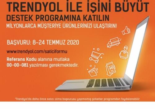 """Türkiye Odalar ve Borsalar Birliği (TOBB) ve Trendyol """"Trendyol ile İşini Büyüt"""" KOBİ destek programını başlattı."""