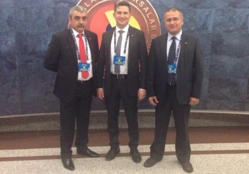 Ödemiş Ticaret Borsası TOBB Türkiye Ekonomi Şurası'na Katıldı.