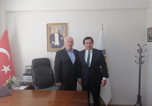 Ödemiş Cumhuriyet Başsavcısı Tuğan SARICA Ödemiş Ticaret Borsamızı ziyaret etti.