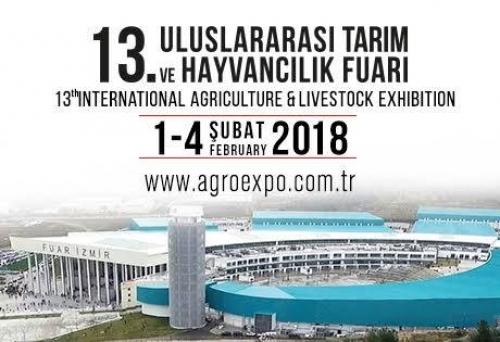 ÖDEMİŞ TİCARET BORSASI 13.Agroexpo Uluslararası Tarım ve Hayvancılık Fuarına katılarak üyelerinin ürünlerini tanıtacak.